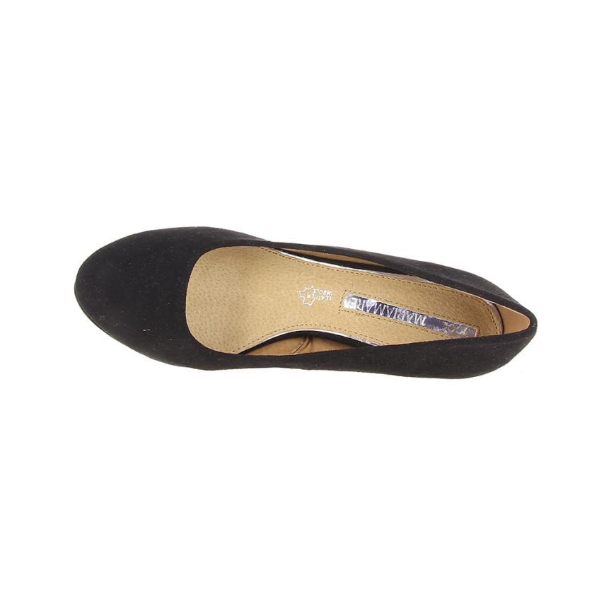 3d7cbf548de Zapato de salón para mujer  negro Maria Mare