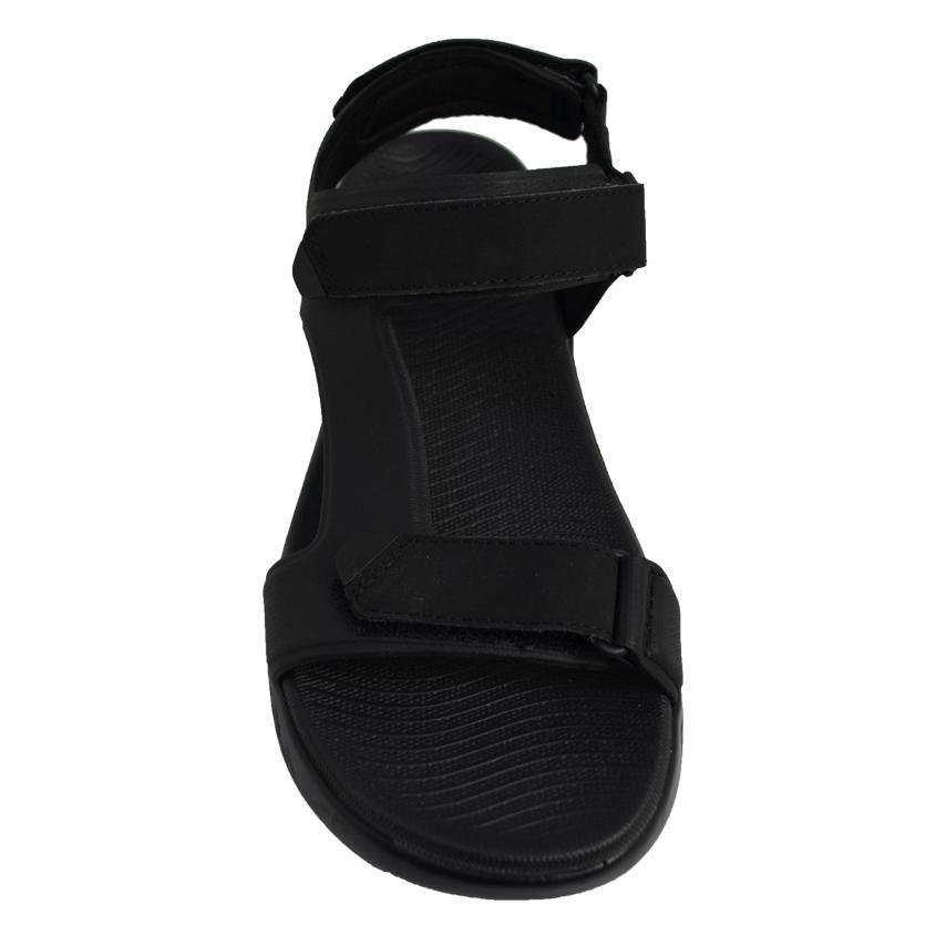 Tiempo Skechers negro Para Goma Sandalias Hombre Libre De 3AL4j5R